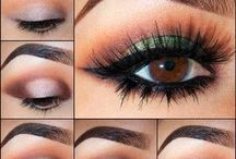 make up eyes