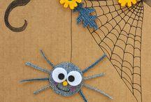 Halloween, pavouci