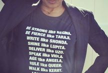 Be Inspired - Black Girl Magic / Emmy Inspired T-Shirt highlighting amazing women who rock!