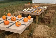 Fall Festival / Find everything you need to throw a fall festival for your church, neighborhood, or school.  There's plenty of party games, party decorations, party treats, and printables to help you throw a fall party that will wow all your guests.