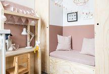 ♀ Meisjeskamer / Leuke ideeën voor een meisjes kinderkamer of babykamer.