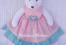 Produtos Marias e Mimos Atelier / Mimos feitos com tecido e do jeitinho que você quiser!