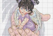Angeli / A punto ai croce