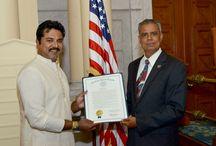 New Jersey Assembly honours Sarath Kumar