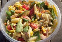 Salades koud en warm-nederlandse recepten. / Heerlijke recepten voor salades