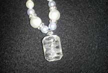 glass, pearls, beaded, jewelry