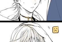 tsuru funny,blushing