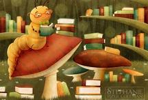 Bookworms. Bibliomania, Bibliophilia / Love of books!