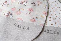 Sewing - bibs