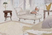 Designer Spotlight / Getting to pick pieces from Sotheby's upcoming spring auctions,  from English, French and Continental to 20th century furniture,  Old Master, Contemporary, and Impressionist paintings and more, six interior designers, each representing a range of styles and influences, were asked to create interior spaces with curated auction pieces at the first ever Sotheby's Designer Showhouse.