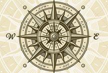 Compass Rose Nautical