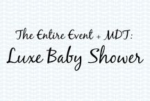 Luxe Baby Shower  / Mommy's Dream Team + The Entire Event: Luxe Baby Shower   #luxe #babyshower #inspiration #babyshowerinspiration #babyshowerideas #baby