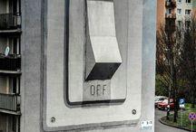 ielu māksla / street Art / by Myntons