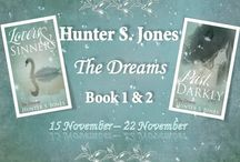 Follow The Dreams with Hunter S. Jones! / Books On Fire Tours are honored to feature Hunter S. Jones and her latest breathtaking books!