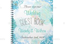 Guest Book / Wedding guest book ideas, and alternative ways to incorporate this wedding tradition.