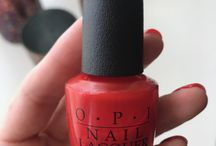 Salon from Home, OPI To the Mouse House We Go! and Cajun Shrimp