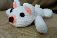 Crochet / Creazioni all'uncinetto, classiche o con tecnica Amigurumi.