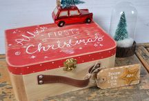 Baby's First Christmas Memory Box