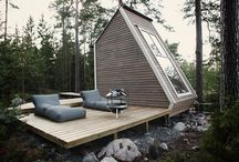 Small dwellings / Inspiration for small building projects.