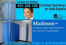 Cortinas para Hospitales Ignífugas y Antibacterianas / Cortinas hospitalarias Madisson le ofrece la mas amplia selección en cortinas antibacterianas para hospitales y centros sanitarios.