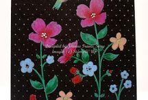 SU; Wildflower Meadow cards