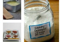 Natural Home Care / DIY natural cleaning products, sustainable living tips, our favorite home products