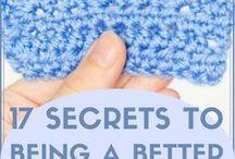 Learn to crochet better