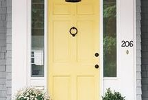 Curb Appeal / Add curb appeal to your home. If you are trying to sell your home the first impression for a buyer is the front door. Not selling...still nice to feel welcomed at the front door.