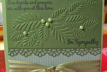 Cards - Sympathy / by Jolene Mohr