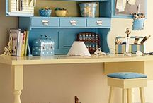 Craft & Sewing Spaces / by Susan Frusher