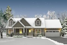 Holiday Homes / Inspiration for exterior curb appeal!
