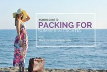 TRAVEL STYLE / Pack your bags efficiently & stylishly for your next trip.