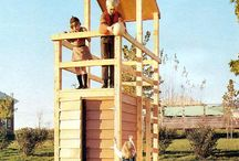 outdoor playhouse or structure