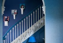 Blue colour schemes / Different ways of decorating in blue colours