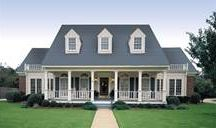 Traditional House Plans & Blueprints / Traditional homes include symmetry and a pleasant, inviting appearance. Many feature front porches, columns and shutters. Browse our full collection of traditional house plans at http://www.dfdhouseplans.com/plans/traditional_house_plans/