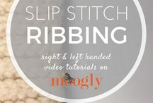 ribbiñg stitch