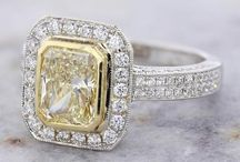Statement Engagement Rings