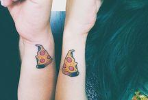 Tattoo Inspiration / BEST FRIEND TATTOOS | COUPLE TATTOOS | TINY TATTOOS | GORGEOUS TATTOOS / by YourTango
