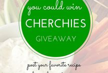 Giveaways / Giveaways! Check out our latest Cherchies Giveaway!