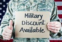 Military Discounts / by Heather Montealegre