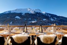 Skiing and Chalets