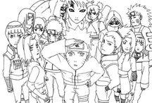 Omalovánky anime