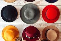 Chapéus artesanais