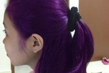 Cool Colored Hair