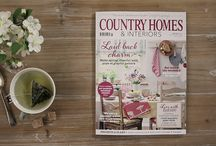 Country Homes: The latest issues / Looking for country decorating ideas? Take a look inside our latest issues for the best in country style.