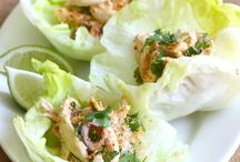 Chicken Wrap Enjoy / Lunch for one. Or snacks for three. Thai Chicken Wrap Enjoy with http://javatimescaffe.com/