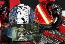 Star Wars tema / Alt til din Star Wars temafest og Star Wars fødselsdag.
