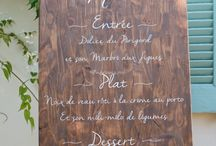 Déco Table, Menus & Marque place