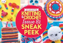 Issue 81 of LGC Knitting & Crochet magazine / Issue 81 of LGC Knitting & Crochet magazine, on sale from 13th May to 17th June 2016, comes with a beautiful Fiesta yarn kit. Bring a dose of vibrant colour into your life with our gorgeous selection of colours. Use your bonus safety eyes to add features to a cute panda pair, an underwater scene or a cute cat granny square. We're also investigating the benefits of joining a knitting group plus we're celebrating the Queen's 90th birthday - come and join in the fun!