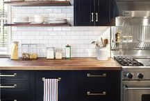HOME // dream kitchens / Banging placing to get your cook on